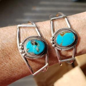 Turquoise Sterling Silver Native American EACH $98